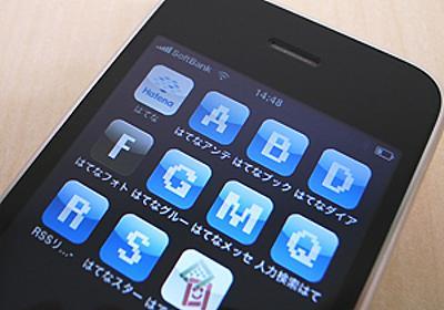 iPhone/iPod touch のホーム画面用アイコンを設定しました - はてなダイアリー日記