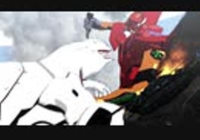 【MMD杯ZERO3参加動画】弐号機vs量産機【MMDエヴァ】