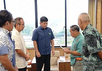 オスプレイ被害の改善を 宜野座村城原区が村に要請 - 琉球新報 - 沖縄の新聞、地域のニュース