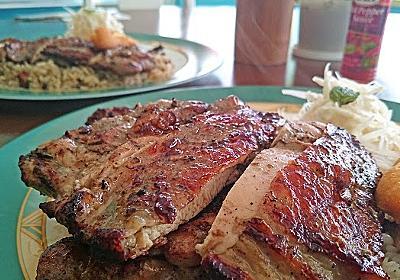 沖縄市パークアベニュー通りにある本場のジャークチキンが味わえる南国カフェ☆|沖縄放浪日記