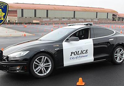 CNN.co.jp : テスラのパトカー、容疑者追跡中に電池切れ 米カリフォルニア州