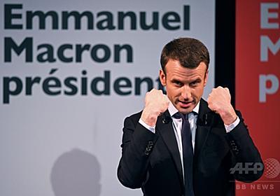 仏大統領選、マクロン氏はネガキャンを振り払えるか ルペン氏を上回ったマクロン氏の支持率 | JBpress(日本ビジネスプレス)