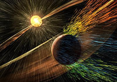NASA、火星テラフォーミングへ磁気シールド構想を発表。太陽風防ぎCO2を保持、温室効果で氷を海に - Engadget 日本版