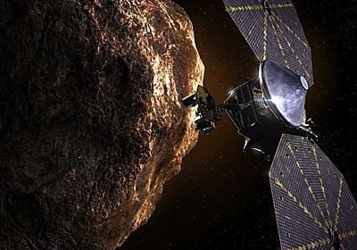 NASAの探査機ルーシーは未来の地球人のためタイムカプセルを運ぶ | ギズモード・ジャパン