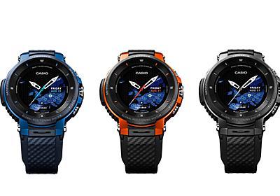 タフネス仕様のスマートウォッチ「PRO TREK Smart WSD-F30」 - ケータイ Watch