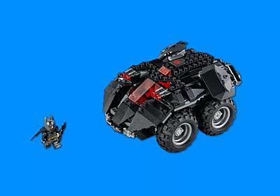 レゴ版Nintendo Laboだコレ。スマートフォンで操作できる「LEGO バットモービル」 | ギズモード・ジャパン