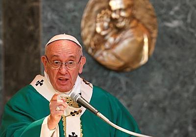 「偽善的信者より無神論者の方がまし」、ローマ法王がミサで言及 - ロイター