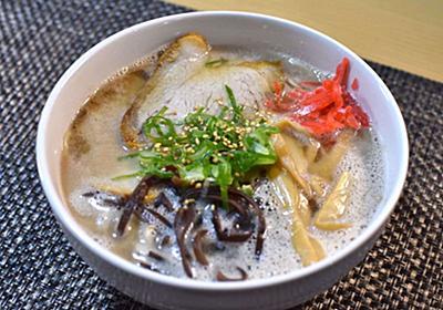 「ストレートタイプの豚骨スープ」にこだわって福岡のラーメン3店からお取り寄せしてみた - メシ通 | ホットペッパーグルメ