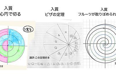 """数学を愛する会 on Twitter: """"【円を3等分する選手権表彰】 数学クラスタにケーキを切らせるとこうなる https://t.co/CKH1fgxYh8"""""""