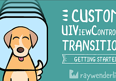 Custom UIViewController Transitions: Getting Started | raywenderlich.com