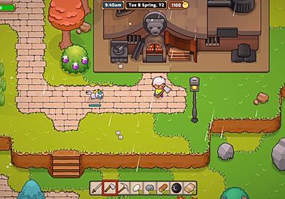 欲張りスローライフゲーム『Everafter Falls』PC/Nintendo Switch向けに発表。農業にクラフト、自動化にカード要素まで取り入れる | AUTOMATON