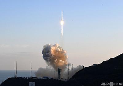 韓国、初の純国産ロケット打ち上げ 模擬衛星の軌道投入失敗
