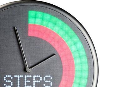 各種アラートを鮮やかなLEDで表示するスマートな掛け時計「Glance Clock」 - CNET Japan