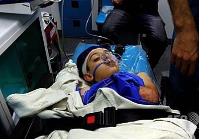 バスで遠足中の児童ら17人死亡 ヨルダンの死海付近で鉄砲水 写真1枚 国際ニュース:AFPBB News