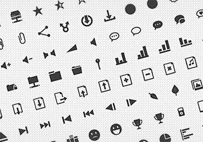 商用可で使い勝手◎、シンプルなピクトグラム無料アイコン400個セット「Pyconic Free Icons」 - PhotoshopVIP