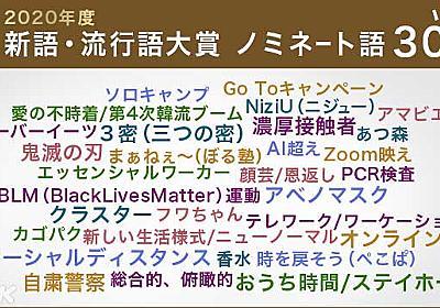 ことしの新語・流行語大賞 ノミネートは?   トレンド   NHKニュース