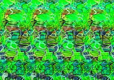 絵を描くと3Dステレオグラムに変換するFlash「3D Stereogram」 - GIGAZINE
