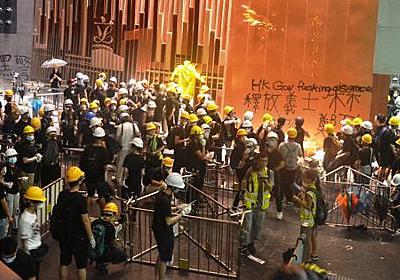 香港デモ「勇武派」横行しても失速しないわけ | 麗しの島から | 福岡静哉 | 毎日新聞「政治プレミア」