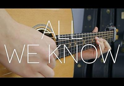 The Chainsmokers - All We Know ft. Phoebe Ryan - Fingerstyle Guitar Cover By James Bartholomew