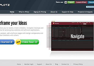 Webサイトの骨組み: ワイヤーフレームを素早く・手軽に・美しく制作する   Webクリエイターボックス