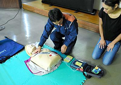 女子マネジャー死亡、「呼吸」誤解? AED使ってれば:朝日新聞デジタル