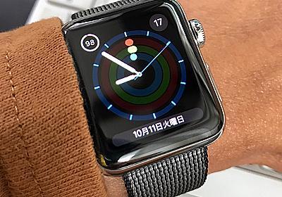 Apple Watch Series2を1週間使ってみた悲しい結果 - More Access! More Fun! %