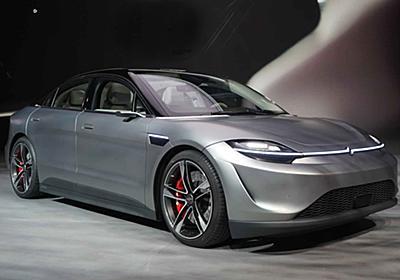 ソニー、CES 2020で新たな提案「VISION-S(ビジョン エス)」の試作車を展示 - Car Watch
