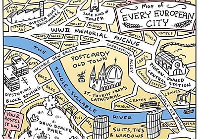 "Alex Honcharukさんのツイート: ""Every European city… """