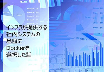 インフラが提供する社内システムの基盤にDockerを選択した話 - ぐるなびをちょっと良くするエンジニアブログ