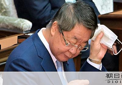 吉川元農水相、大臣室で受領か 鶏卵業者「違法性認識」:朝日新聞デジタル