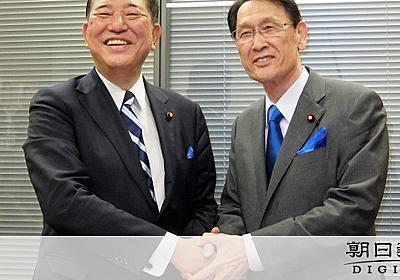 石破氏、憲法巡り首相を牽制 「党員票の45%が私に」:朝日新聞デジタル
