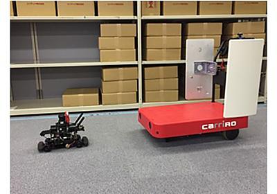 ZMPと凸版印刷、ロボットとRFIDを組み合わせた無人棚卸ソリューションを公開   IoTニュース:IoT NEWS