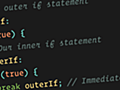 You Can Label a JavaScript `if` Statement | CSS-Tricks
