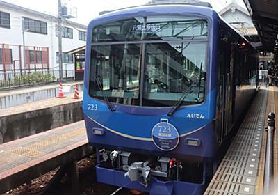 鮮やかなブルーの叡山電鉄車両デビュー 京都の市街地、山あいを疾走中|経済|地域のニュース|京都新聞