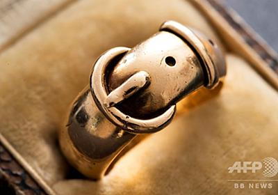 オスカー・ワイルドの「友情の指輪」、著名美術調査員が発見 盗難から20年 写真8枚 国際ニュース:AFPBB News