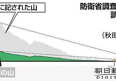 防衛省、実地調査せずグーグルアース使う 幹部が認める:朝日新聞デジタル