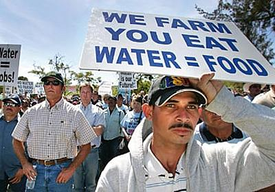 Of farms, folks and fish - California's water wars