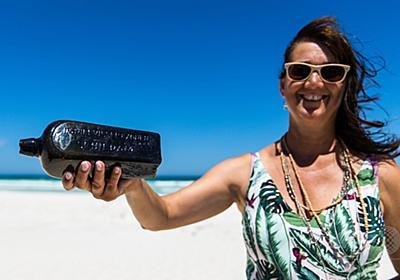 世界最古の瓶入り手紙、豪海岸で発見 132年ぶり 写真10枚 国際ニュース:AFPBB News