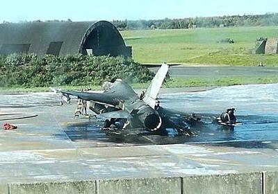 【大惨事】ベルギー空軍のエンジニアがミスって、1億6千万円の戦闘機を消し炭にしてしまう!! : フレッシュニュース