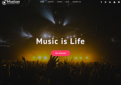 Musican – WordPress Theme Review