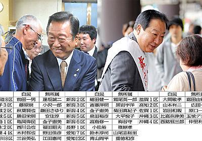 無所属23人が自民候補を撃破か 選挙後は野党結集の中核に 日刊ゲンダイDIGITAL