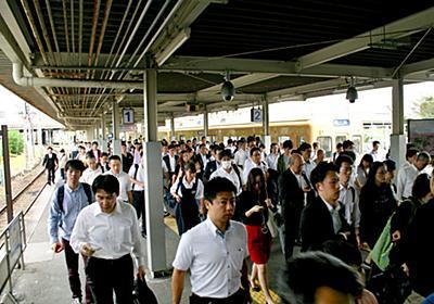 福岡の通勤ラッシュ深刻化 人口急増で首都圏並み区間も:朝日新聞デジタル