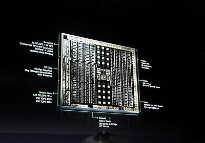 【後藤弘茂のWeekly海外ニュース】NVIDIAがレンダリングパイプラインを根底から変革する新GPU「Turing」を発表  - PC Watch