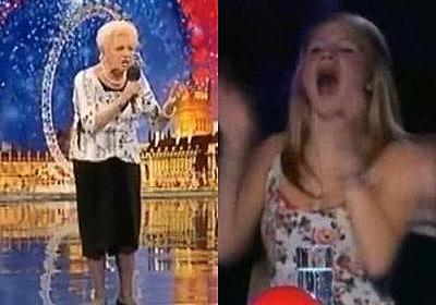 喝采の嵐…80歳のおばあちゃんの感動を呼んだ歌声(字幕動画):らばQ