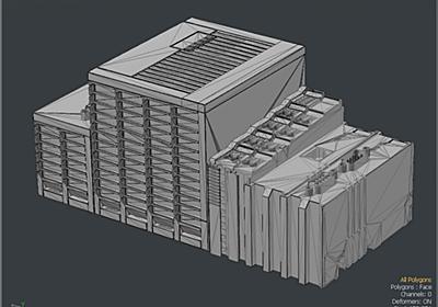 100万ポリゴンのCADデータを3000ポリゴンにリトポする - Synamon's Engineer blog