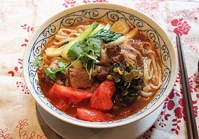 本場台湾の味「牛肉麺(ニョーローメン)」の作り方を台湾料理のプロに教わったら味が限界を超えた - メシ通