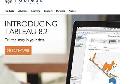 『ストーリー』機能で分析内容をもっと深く、説得力のあるものに – Tableau Desktop 8.2 新機能紹介   DevelopersIO