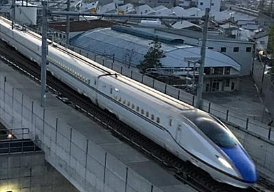 北陸新幹線に透明防音壁 金沢以西、白山の眺望確保  :日本経済新聞