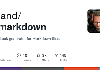 GitHub - toland/qlmarkdown: QuickLook generator for Markdown files.