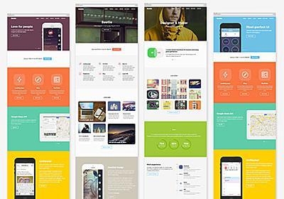 Bootstrapで行こう!すごい無料HTMLテンプレート24個まとめ 2014年12月度 - PhotoshopVIP